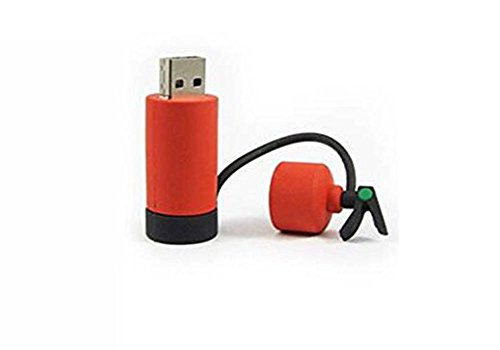 Demarkt USB Fun Fire Extinguisher USB 2.0 Flash Drive Memory Stick 16 GB Flash Memory Stick 32GB