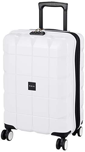 [リミニ] スーツケース ナクシオンZP エキスパンド機能付 機内持ち込み可 44L 3kg ホワイト