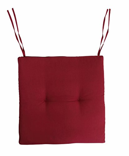 DANDLER Sitzkissen, bordeau x, 45 x 45 x 4 cm, 584011