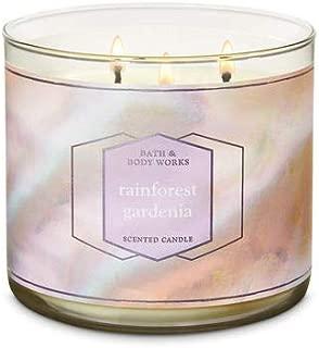 Bath and Body Works Rainforest Gardenia 14.5 oz Three Wick Candle