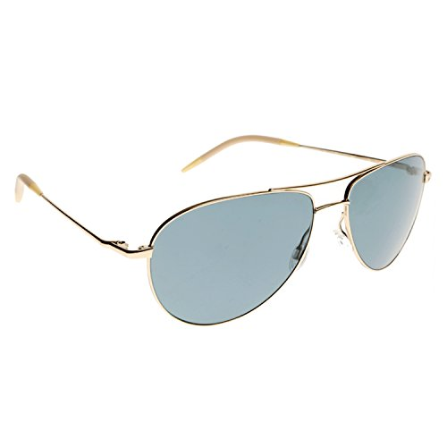 Oliver Peoples Eyewear Men's Benedict Sunglasses, Gold, One Size