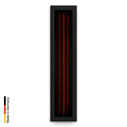 Infrarotstrahler für Sauna RotLicht Frame Black, artvion (1300 Watt)
