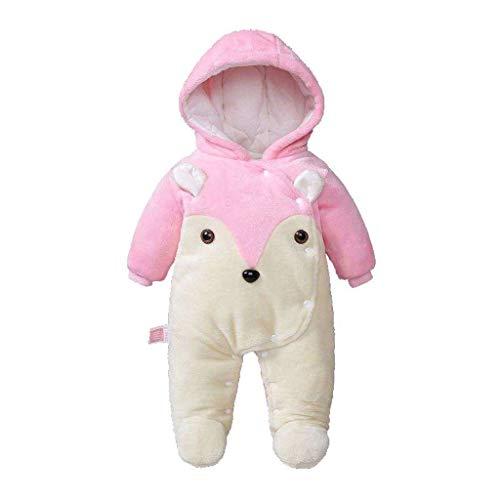 NYKK Disfraces para niños Traje de Halloween Pijamas de los niños Unisex Rosada, Muchacha bebé del Mameluco del bebé de los Pijamas de la Ropa del bebé Pijamas de Animales para niños (Size : 80)