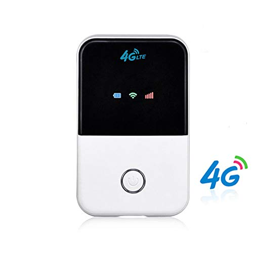 DZSF Mobiler 4G WiFi Router Mini Router 3G 4G LTE Wireless Pocket Mobiler Hotspot Auto WLAN Router mit SIM Karte, Slot Mini Car Mobile