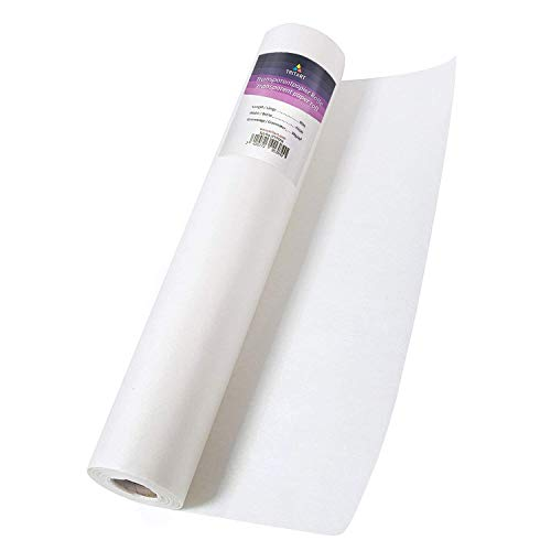 Tritart Transparentpapier Rolle 40cm x 50m 50g/m | Skizzenpapier Rolle