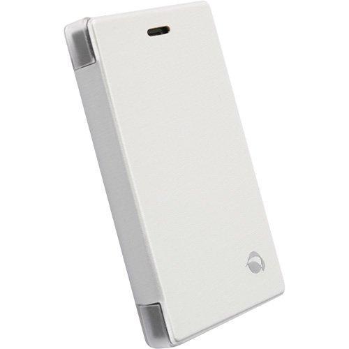 Krusell FlipCover del Fondo Bianco, per Nokia Asha 503, 75768, Compatibile con Nokia Asha 503
