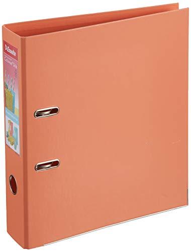 Esselte Colour'Ice 626211 - Archivador de Palanca A4, color Albaricoque, Lomo 75mm, Plástico, 1 unidad