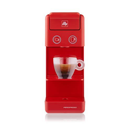 Illy Caffè Espresso und Coffee Máquina de café y3 Iperespresso, 850 W, 0.75 litros, plástico, Rojo