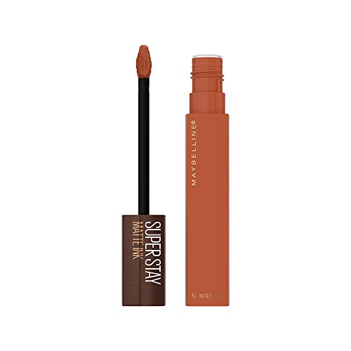 Batom Líquido SuperStay Matte Ink Coffee Caramel Collector, Maybelline, Caramel Collector