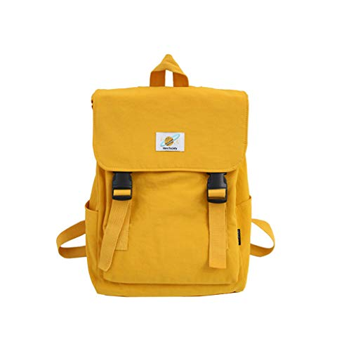 KunmniZ Women Fashion Backpack Nylon Casual Rucksack for Teenage Girls School Bookbag Travel Daypack
