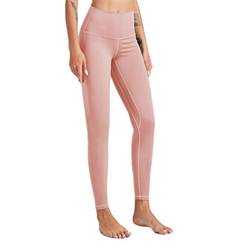 Fyj Women's Leggings Women Compression Yoga Pants High Waist Running Tights Jogging Leggings Stretchy Trousers Non See Through Yoga Pants for Gym, Cycling, Yoga, Running, Daily Leisure 2020 L