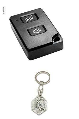 Zisa-Kombi Funk-Handsender 868MHz für Wipro III & Wipro III safelock (932988470909) mit Anhänger Hlg. Christophorus