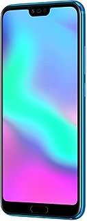 Huawei Honor 10 Dual-SIM 128GB (GSM Only, No CDMA) Factory Unlocked 4G Smartphone (Phantom Blue) - International Version