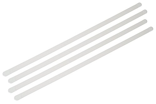 4 x Mieder Korsett Stäbe Corsagenstäbe Korsettstäbchen, Breite: 8 mm, Länge: 28 cm
