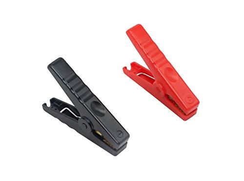 CERRXIAN Krokodilklemme, 150 A, für Autozündung, Batterieklemme, Rot und Schwarz