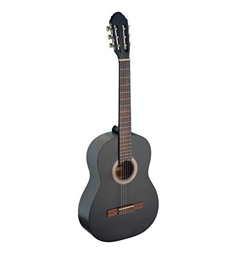 Stagg C440 – Guitarra clásica, color negro: Amazon.es ...