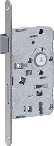 ABUS 61663 ES BB R S 55 72 20 Einsteckschloss, Silber