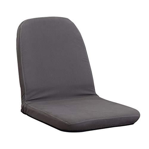 LRSFY verstelbare bank stoel comfortabele kussens fauteuils opvouwbare luie ligstoelen voor slaapzaal verhuur kamer hotel appartement bruin donkergrijs