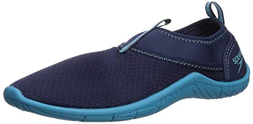 Speedo Women's Water Shoe Tidal Cruiser,Navy/Blue,8 Womens US