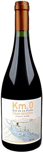 Atlantik Weine, Km.0 Gran Reserva Pinot Noir 2015, Rotwein aus Uruguay, Südamerika 1 x 0,75L