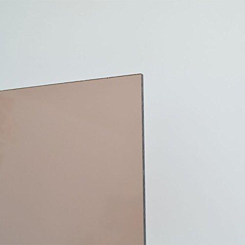 5mm Acrylglas Platte 50x50 cm Rauchglas braun getoent