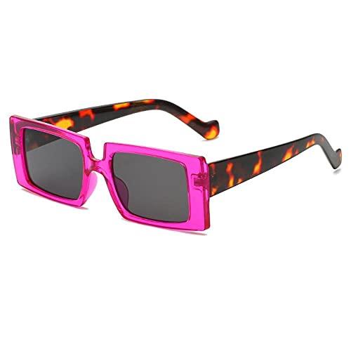 MU-PPX Gafas De Sol para Mujer Gafas De Sol Cuadradas Grandes Gafas De Sol Polarizadas con Protección Uv400 Vintage Shades para Mujer