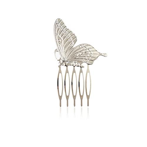 YINGBBH Pinzas Pelo Esmalte para Mujer Horquillas Milagrosas Bee Butterfly Ladybug Peine Peine Clips 2021 Moda Oro Plata Dibujos Animados Animal Lady Clips (Farbe : 3)