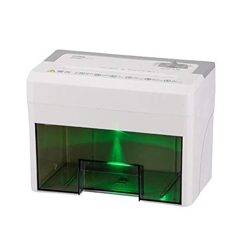 オーム電機『静音卓上マイクロカットシュレッダー(SHR-SDM01)』