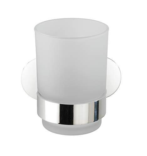 WENKO Turbo-Loc Uno Orea Shine - Vaso para cepillos de Dientes (Montaje...