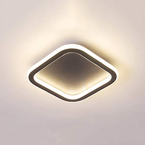 GLBS Panel Corredor Downlight 12W/18W/24W Creatividad Cuadrado LED De Entrada Salón Luz De Techo De Aluminio Ultra Fino De Hierro Negocio Casero Iluminación Empotrada