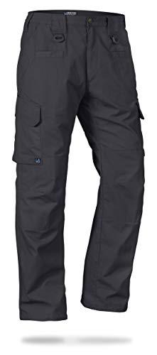 La Policía Gear Operador táctica Pantalones con Cintura elástica - Gris -