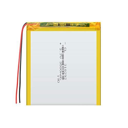 1 unids 318292 3.7 V 3500 mAh batería recargable lipo de polímero, para MP3 Mp4 Banco de energía Cámara Radio Juguete eléctrico Lámpara Led