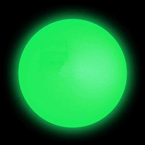 DSJUGGLING Glow in The Dark Acrylic Contact Juggling Ball - 76mm (Appx. 3inch) Glowing Green Color