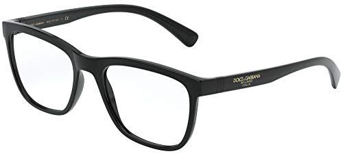 Dolce Gabbana - DG5047 Black Square Uomo Occhiali da vista - 52mm