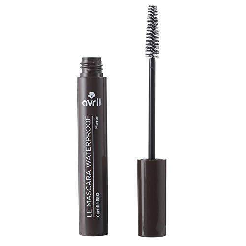 Avril Mascara Waterproof Marron, 9 ml