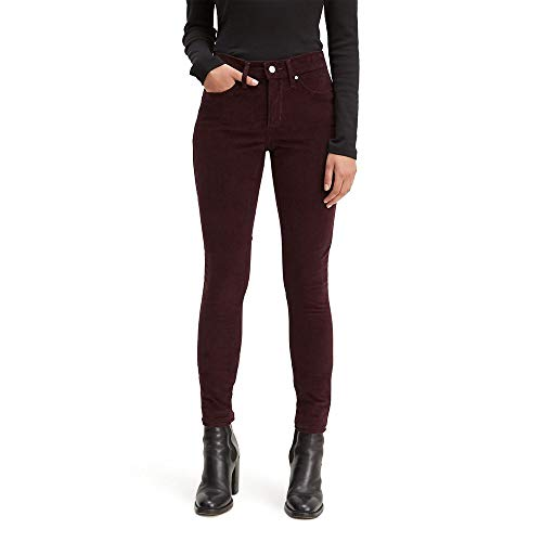 Levi's Damen 311 Shaping Skinny Jeans, Weiches Malbec-Kordel, (32) R