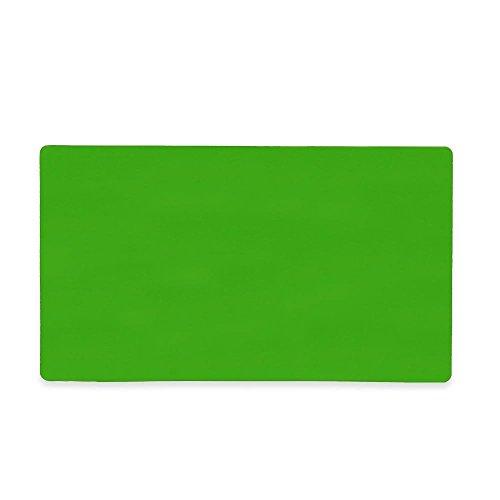 Magnet Experten mf14080(GND)-5flexible Magnetfolie W/Gloss Trocken abwischbar Oberfläche, grün (5Stück)