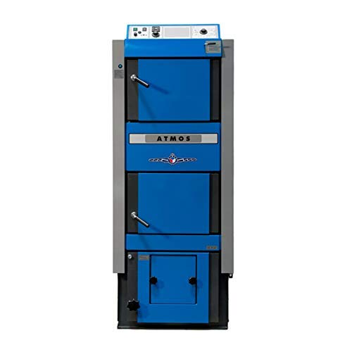 Atmos DC25GSP Bafa Boiler Combi Caldaia a Pellet / Gassificatore Legna 25 Kw
