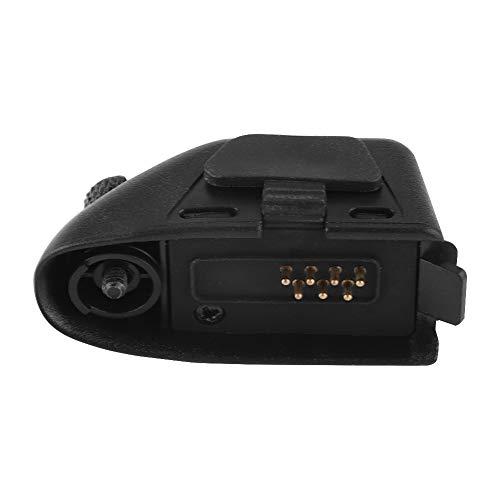 Conector adaptador de fone de ouvido de áudio eletrônico para Motorola GP328, GP33, GP34, PTX760, Pro5150, PRO 5151