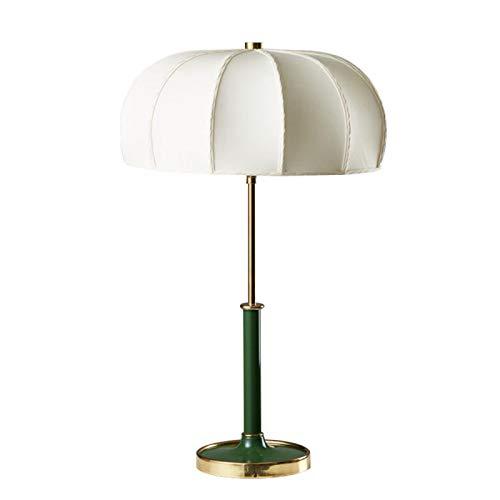 Lámpara de mesita de noche esmeralda minimalista para mesita de noche de dormitorio Lámpara moderna para sala de estar Iluminación de decoración de habitación de invitados