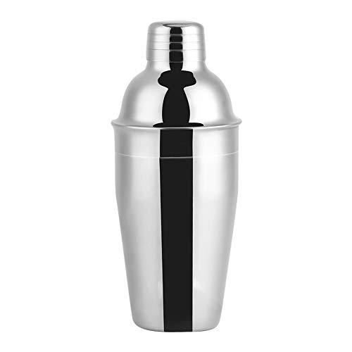 Coctelera, 21,5 x 8 cm de acero inoxidable Barmender Likes Cuchara Mezcladora de Acero Inoxidable Hecho (Plata)