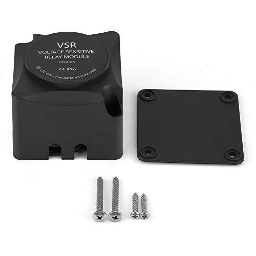 140 Amp Doppelbatterie-Isolator, Spannungsempfindlicher VSR-Relais-Batterietrenner mit automatischem Laderelais