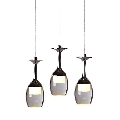 Sohvlt Kronleuchter pendelleuchte Moderne minimalistische Atmosphäre LED-Kronleuchter kreative Persönlichkeit Wohnzimmer-Bar-Restaurant Schlafzimmer stilvolles Weinglas Dekoration Lampe