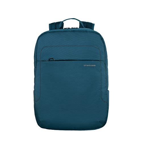 """Tucano-Lup-Zaino in Tessuto Tecnico per Notebook 13.3""""/14, MacBook Air 13""""/MacBook PRO 13"""". Tasca Interna Imbottita per Notebook, Tablet o iPad. Tasca di Sicurezza sullo Schienale."""