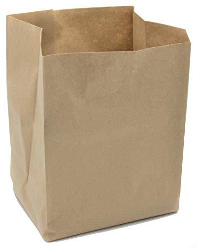 UlithClean Bioabfalltüte, Kompostbeutel, Biobeutel aus Papier, nassfest, 10 Liter, 270x200x160 mm, Papiertüten (30 Stück)