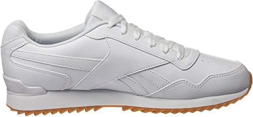 Reebok Royal Glide Ripple Clip, Zapatillas Clasicos para Hombre, Blanco (White/Gum), 42 EU