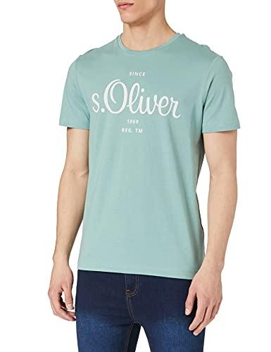 s.Oliver Herren 130.10.104.12.130.2103401 T-Shirt, 7224, S