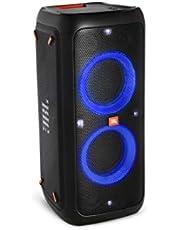 JBL PartyBox 300, Draagbare Bluetooth Party, Luidspreker Met Lichteffecten, Spatwaterdicht, Zwart