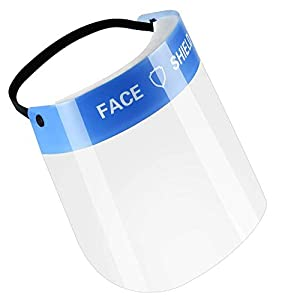 Protector Facial de Seguridad contra Polvo KKmoon Visera Proteccion Facial Desmontable