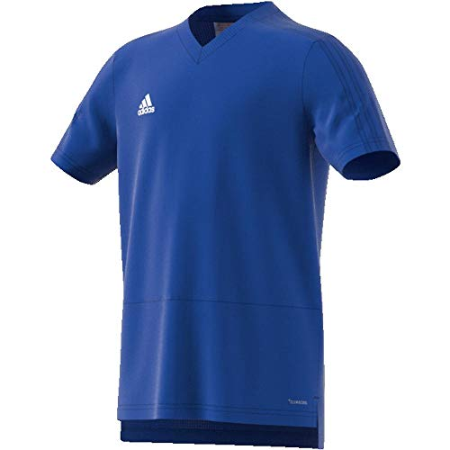 adidas Kinder CON18 TR Y Jersey, Bold Blue/White, 9-10 Years